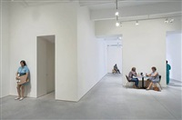 installation view by duane hanson