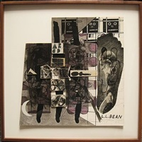 untitled (l.l. bean) by ray johnson