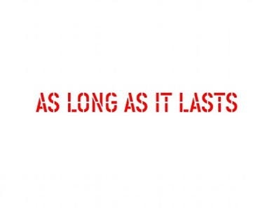 whos afraid of jasper johns show conceived by urs fischer gavin brown by lawrence weiner
