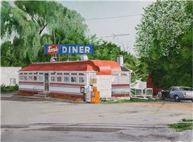 tom's diner by john baeder