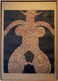 cheyenne shamaness by al (alfred earl) hansen
