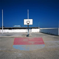 basketball court #1 by charles johnstone