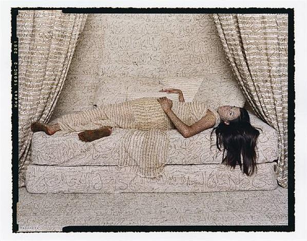 les femmes du maroc: harem beauty #2 by lalla essaydi