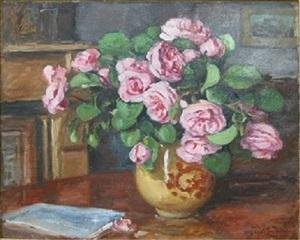 vase de flwurs by albert andré