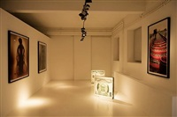 exhibition view by wang jin