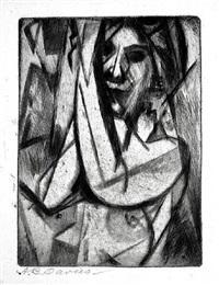 arms up (also entitled portrait j) by arthur bowen davies
