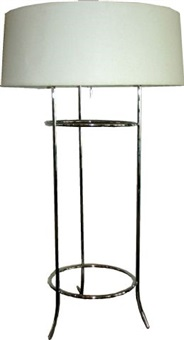 tripod table lamp for hansen by t.h. robsjohn-gibbings