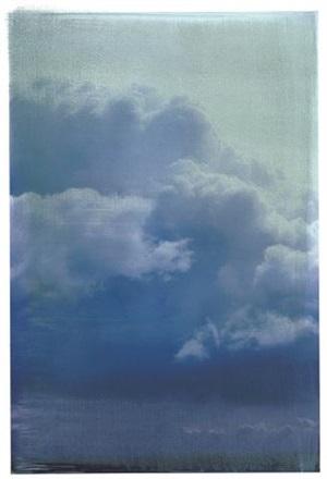 cummulus clouds by ellen phelan