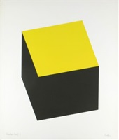 yellow/black (a. 69) by ellsworth kelly