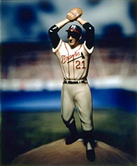 warren spahn by david levinthal