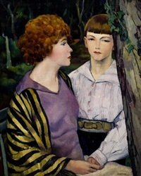 in the forest/a death in the family by leon kroll