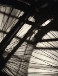 bicycle wheel vortograph by alvin langdon coburn