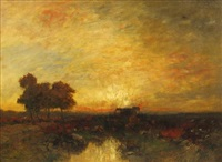 sunset by john francis murphy