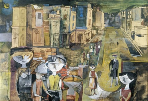scottish city – the gorbals by john minton