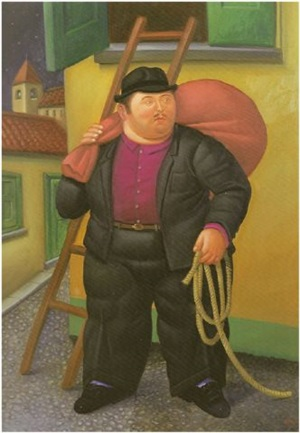 the thief by fernando botero