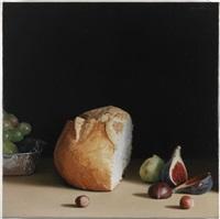 pa, raim figues i fruits secs by josep santilari