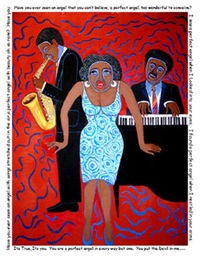 mama can sing - you put the devil in me by faith ringgold