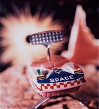 untitled (from the series space) by david levinthal