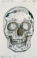 i once was what you are, you will be what i am by damien hirst