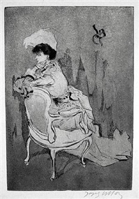 la parisienne by jacques villon
