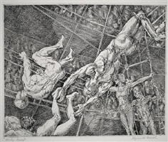 flying concellos by reginald marsh