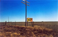 untitled (key sign) from lost and found by william eggleston