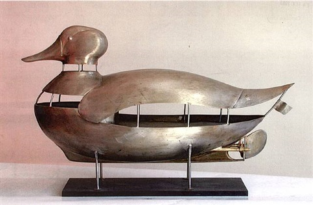metaphore (canard bateau) by françois-xavier lalanne