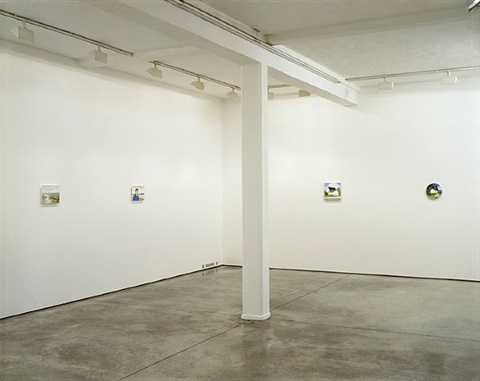 exhibition view, maureen paley by maureen gallace