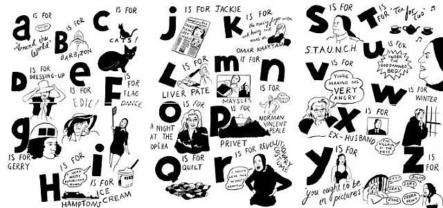 grey gardens alphabet by donald urquhart