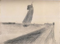 petit fort-philippe by georges seurat