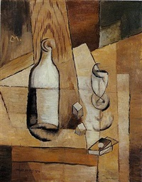nature morte cubiste by louis marcoussis