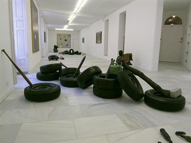 exhibition view by fernando sanchez castillo