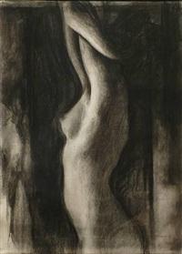 stretching woman #2 by sidney goodman