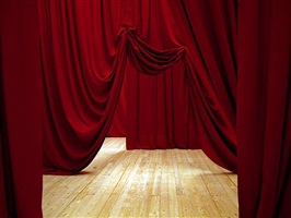 5 folded curtains by ulla von brandenburg