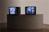 #14 museum heads (l) and #73 the nights (heads in love) by michel auder