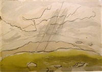 study for sun drawing water by arthur dove
