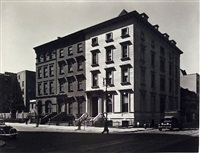 fifth avenue houses by berenice abbott