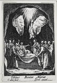 life of the virgin by jacques callot