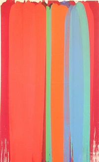 reflections vi: reds, blues & greens by john copnall