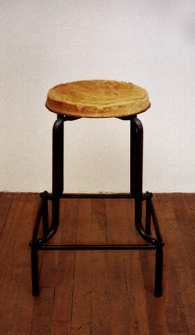 cake stool by jana sterbak