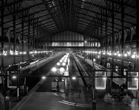 gare du nord, thursday december 4th 2008, 5:54pm -5:59pm by matthew pillsbury