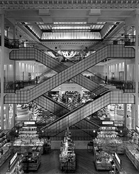 le bon marche, paris by matthew pillsbury