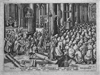 faith from the world of seven virtues by pieter brueghel the elder