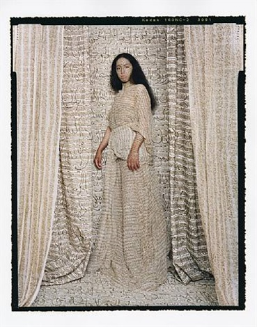 standing odalisque #2 by lalla essaydi