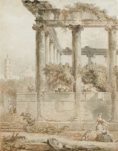annual exhibition of 16th to 20th century master drawings by hubert robert