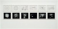 drawings and photographs for a chandelier, 1965 by josiah mcelheny