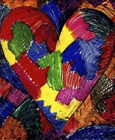 a beautifull heart by jim dine