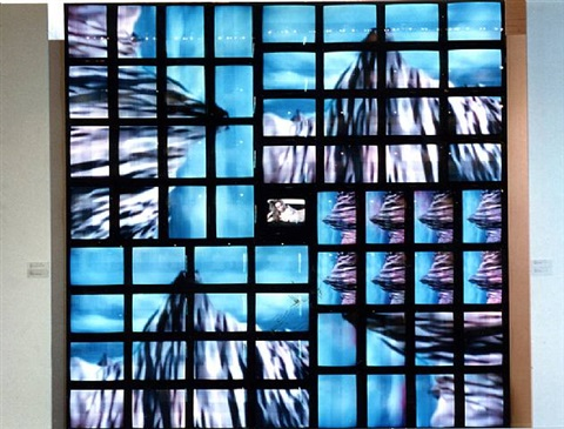 main channel matrix by nam june paik