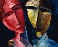 two heads by lasar segall