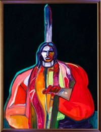 oglala sioux chief by john nieto